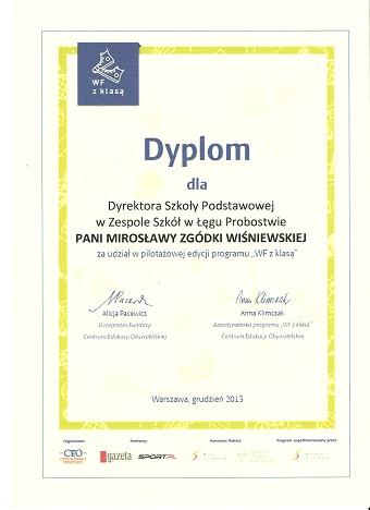 Przegladasz: Certyfikaty i dyplomy.