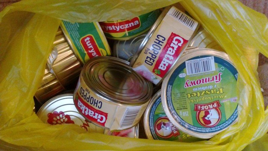 Przegladasz: Zbiórka żywności dla Caritas Płock.
