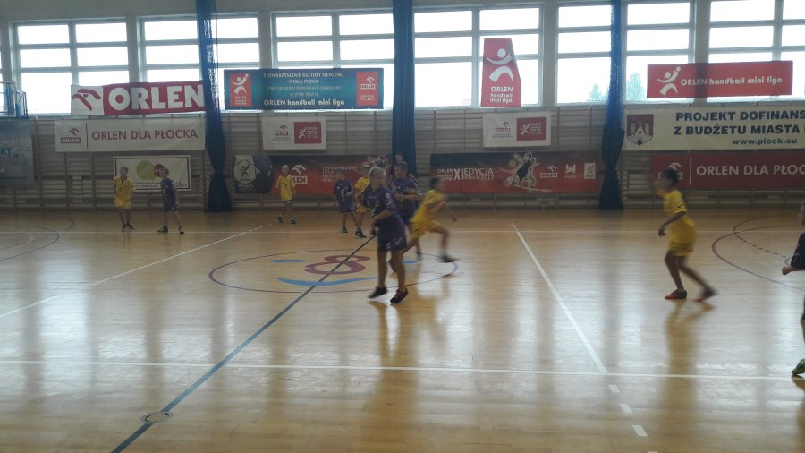 Przegladasz: Orlen Handball Mini Liga.
