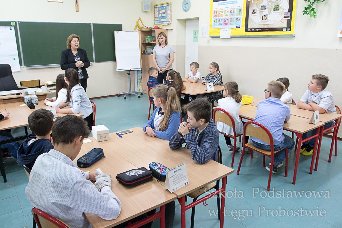 Przegladasz: Kampania na rzecz matematyki w Szkole Podstawowej w Łęgu Probostwie.