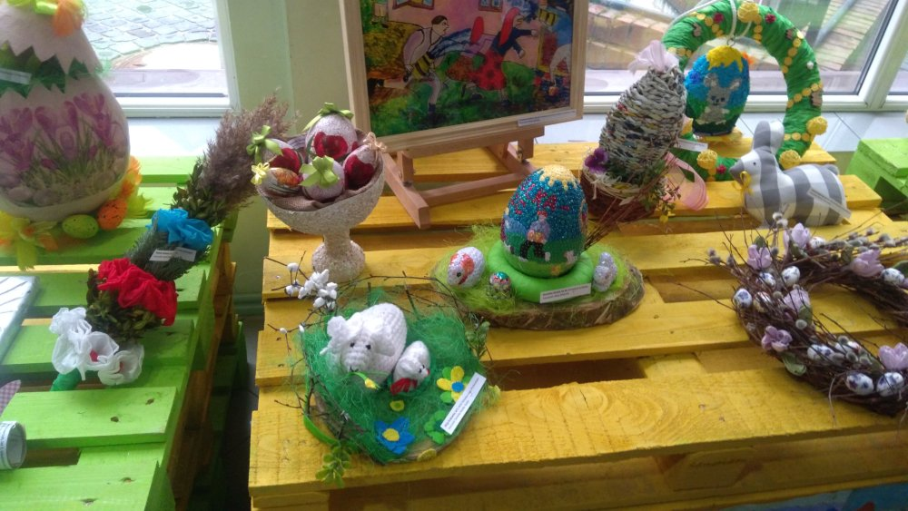 Przegladasz: II nagroda w Ogólnopolskim Konkursie Plastycznym 'Tradycje Wielkanocne'.