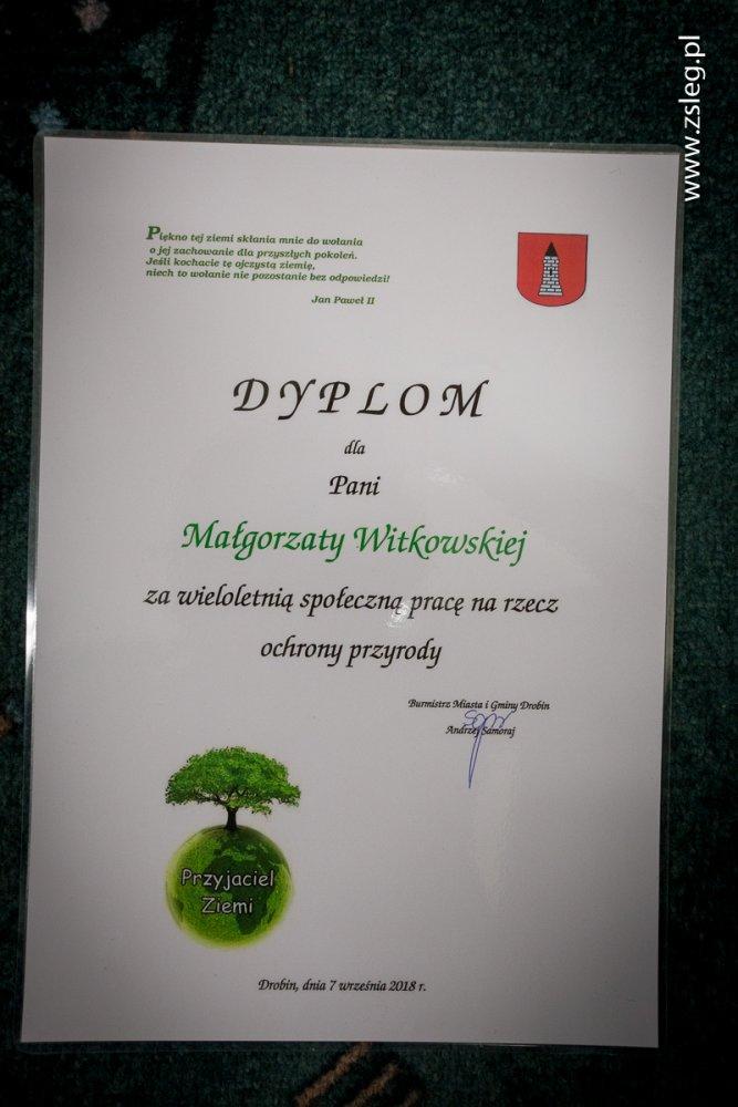 Przegladasz: Odznaczenie dla Pani Małgorzaty Witkowskiej.