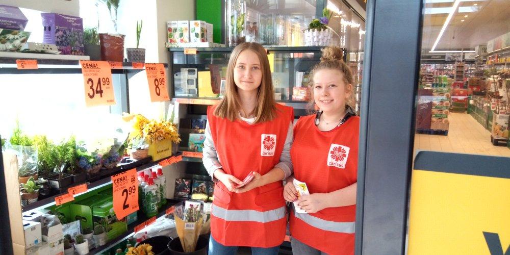 Przegladasz: Zbiórka żywności na rzecz Caritas Płock.