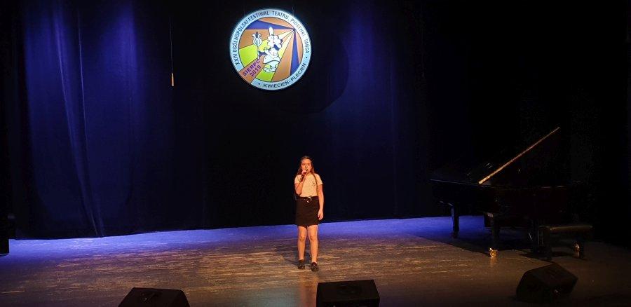 Przegladasz: XXIV Ogólnopolski Festiwal Teatru, Piosenki, Tańca 'Kwiecień Plecień' Sierpc 2019.