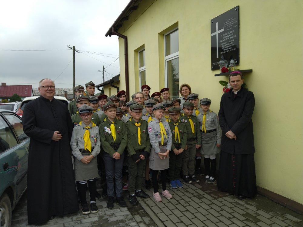 Przegladasz: Spotkanie z Biskupem Mirosławem Milewskim.